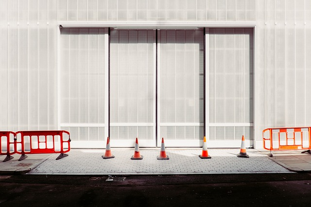 Wall, Window, Covering, Building, Street, Traffic, Cone