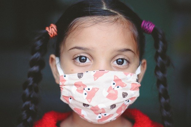 Girl, Child, Face Mask, Covid, Kid, Young, Covid-19