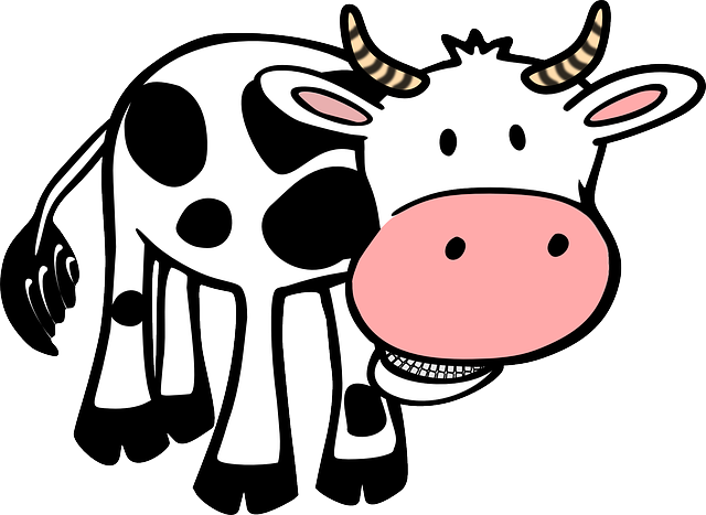 Cow, Food, Farm, Animal, Horns, Beef, Milk, Agriculture