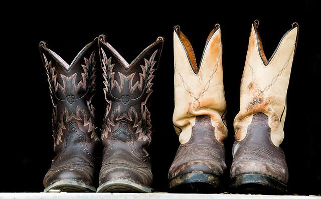 Boots, Shoes, Cowboy, Gowgirl, Western, Leather