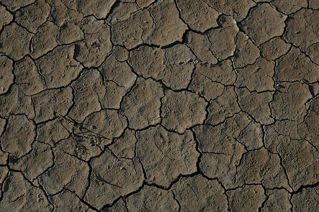 Desert, Death Valley, Crack