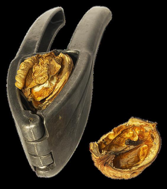 Nutcracker Walnut, Nutshell, Pliers-like, Crack, Joint
