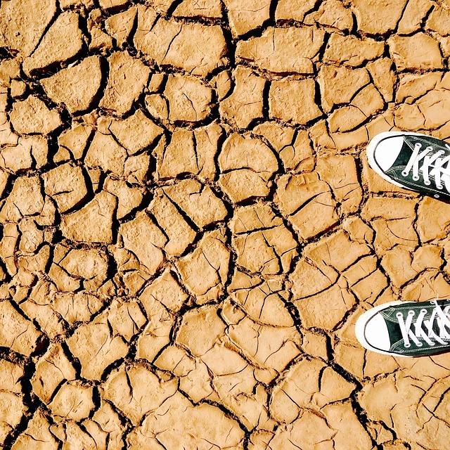 Clay, Cracks, Dry