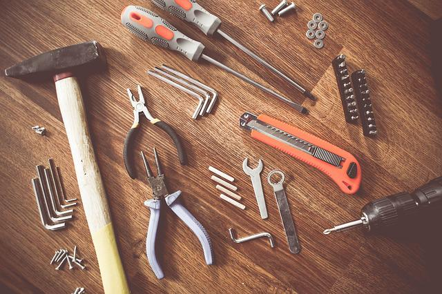 Tools, Construct, Craft, Repair, Equipment, Create