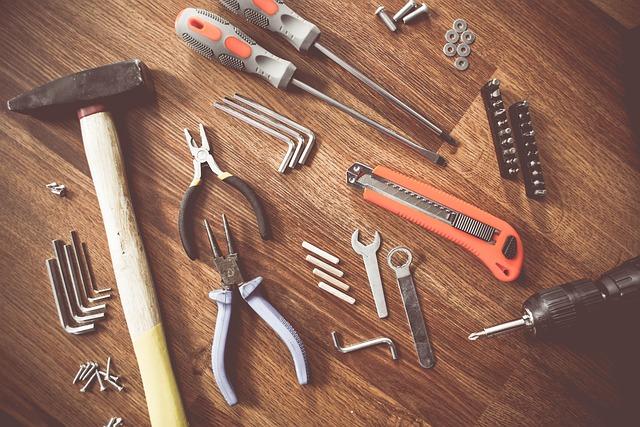 Tools, Construct, Craft, Repair, Equipment, Create