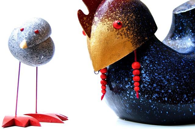 Chicken, Craft, Wood, Funny, Toys, Original, Design