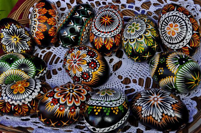 Model, Texture, Craft, Easter Egg, Handcrafted, Eggs