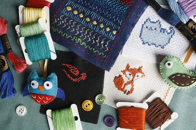Embroidery, Needlework, Cross-stitch, Sew, Craft