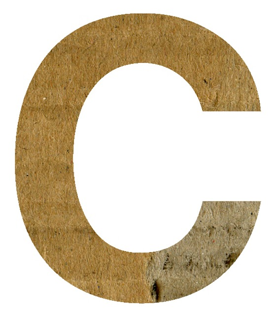 C, Alphabet, Letter, Text, Scrapbook, Craft, Paper