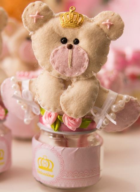 Crafts, Bear, Pot, Princess