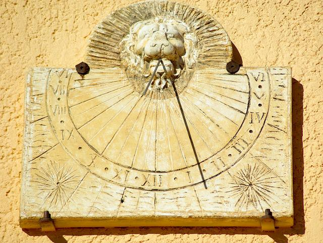Sundial, Time, Sun, Crafts, Pierre