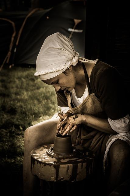 Medieval, Craftsman, History, Worker, Manufacturing