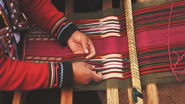 Craftsman, Loom, Craftsmanship, Hands, Person, Thread