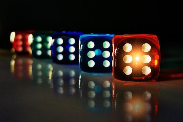 Cube, Colorful, Transparent, Mirroring, Luck, Craps