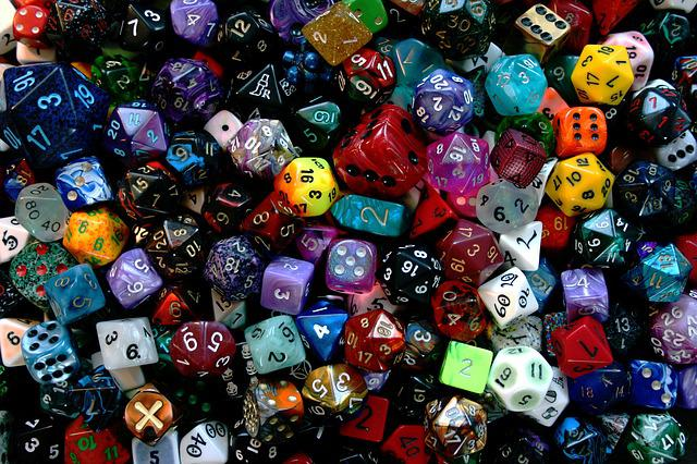 Cube, Play, Craps, Colorful, Instantaneous Speed, Luck
