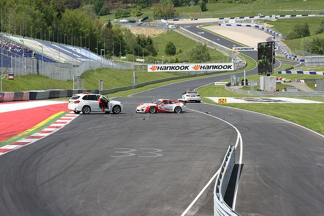 Car Racing, Crash, Accident, Safety Car