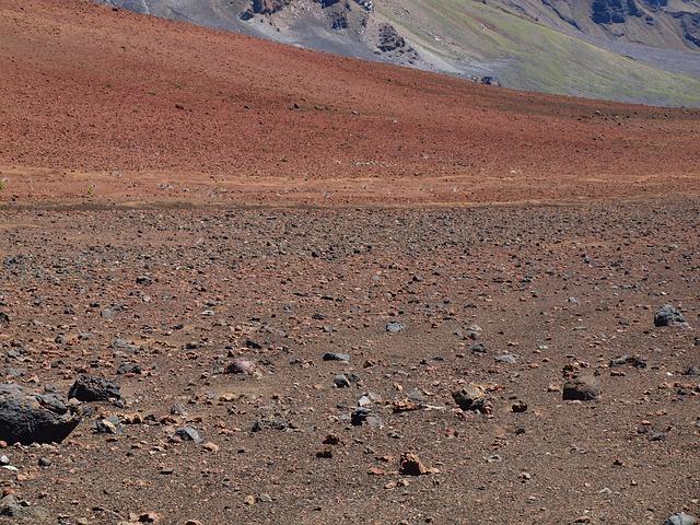 Hawaii, Maui, Volcano, Crater