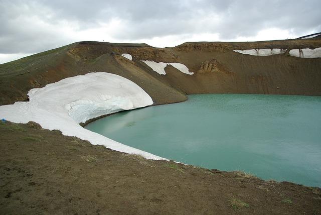 Volcano, Iceland, Volcano Krafla, Crater Viti, Krafla