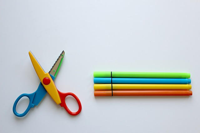 Colour Pencils, Scissors, Crayons, Color, Tinker