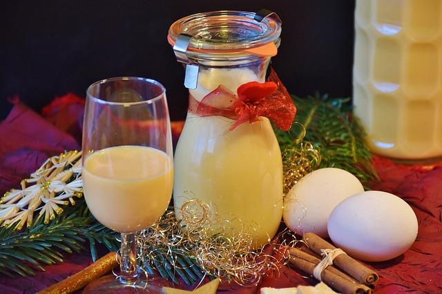 Advocaat, Liqueur, Egg, Yolk, Bio, Rum, Sugar, Cream