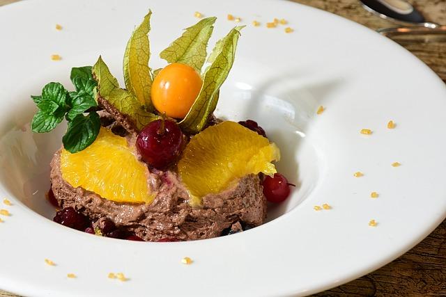 Chocolate, Mousse Au Chocolat, Cream, Fruit, Fruits