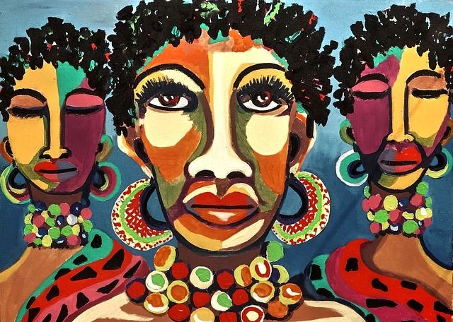 African Art, Creativity, Colorful, Bold