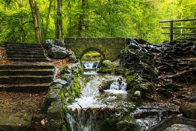 Creek, Bad Urach, Waterfall, Swabian Alb, Destination