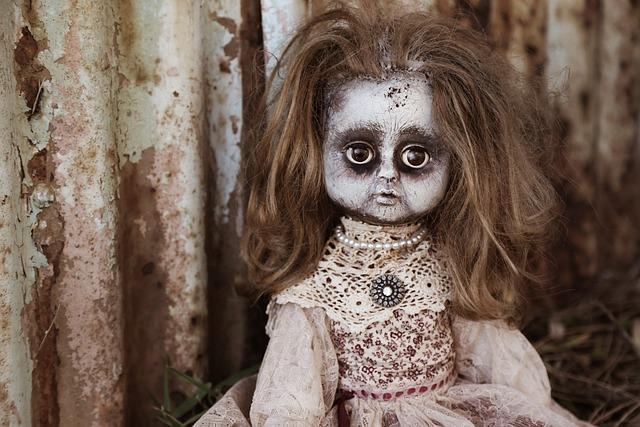 Doll, Creepy, Spooky, Horror, Brown Horror