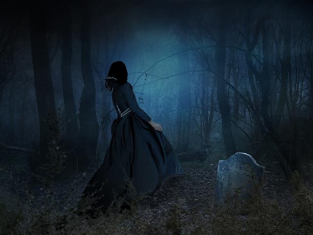 Scary, Eerie, Spooky, Dark, Fog, Fantasy, Creepy