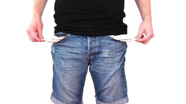 No Money, Poor, Money, No, Crisis, Poverty, Debt, Empty