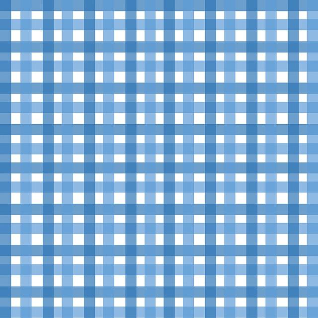 Gingham, Plaid, Crisscross, Stripes, Striped, Two-tone
