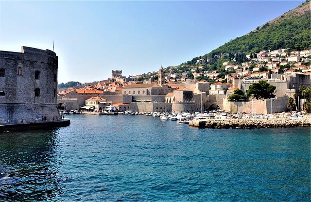 Dubrovnik, Port, Croatia, City, Architecture, Sea