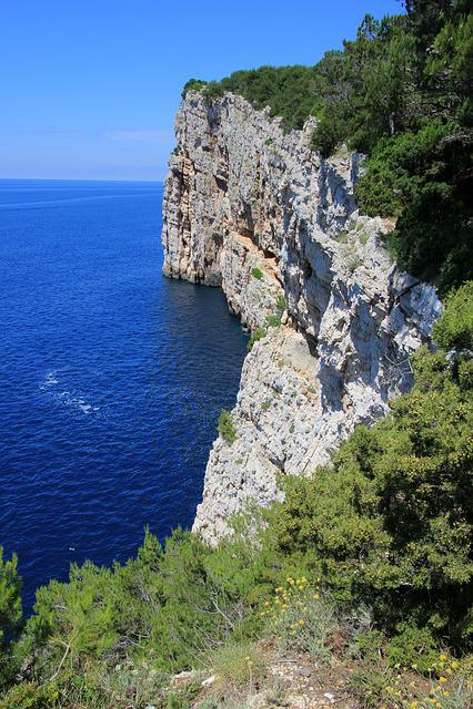 Croatia, Coast, Cliff, Kornati Islands, National Park