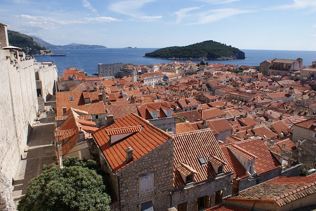 Dubrovnik, Croatia, Monuments, The Old Town, Street