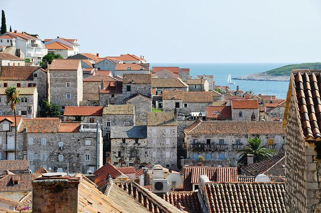 Hvar, Croatia, City, Houses