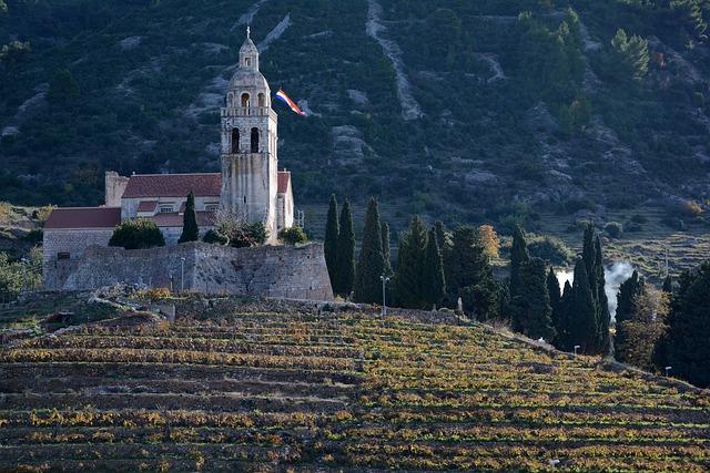 Vis, Croatia, Church, Adriatic, Island, Village