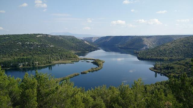 River Krka, National Park, Croatia
