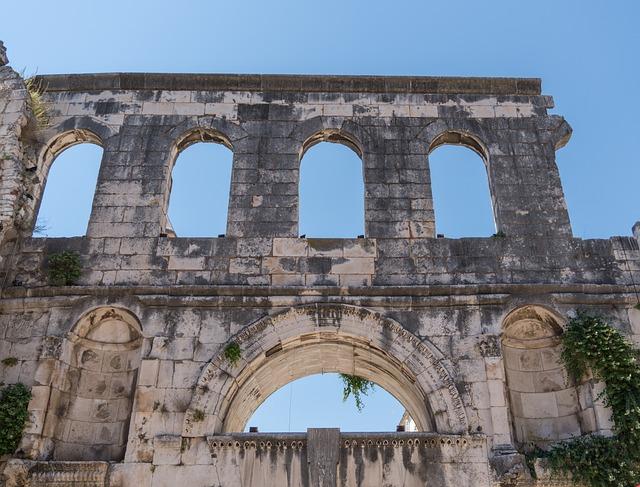 Split, Croatia, Architecture, Landmark, Sky Blue