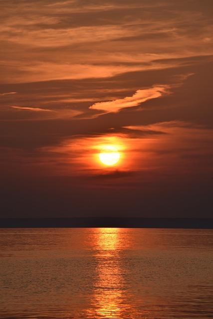 Croatia, Sea, Sunset