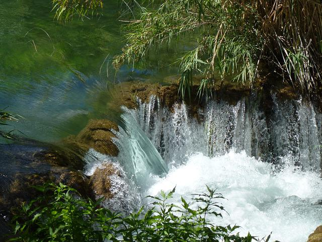 Croatia, Waterfall, National Park, Dalmatia Waterfalls