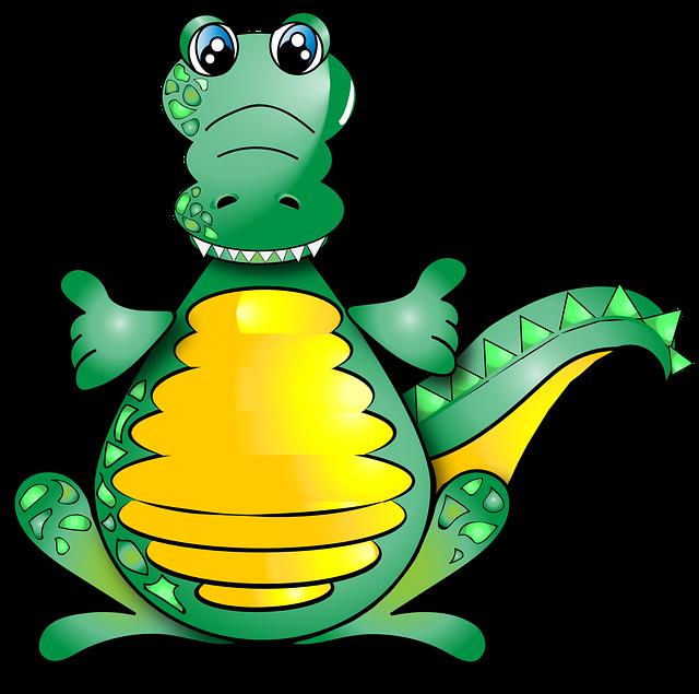 Crocodile, Funny, Alligator, Cute