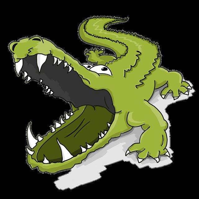 Crocodile, Alligator, Reptile, Cartoon, Caiman, Telesur