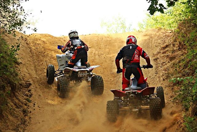 Quad, Motocross, All-terrain Vehicle, Motorcycle, Cross