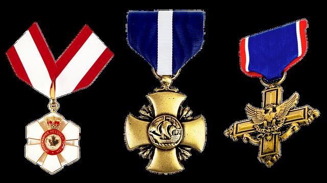 Medal, Order, Honors, Cross, Eagle, Crown, Royal