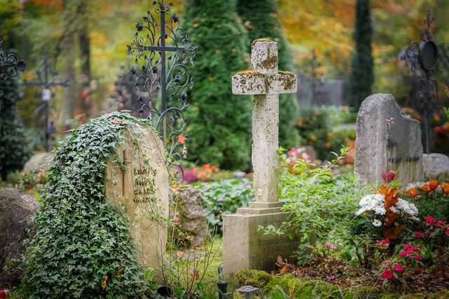 Cemetery, Tombstone, Grave, Mourning, Death, Cross