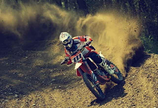 Bike Rider, Cross, Motocross, Motor Sport, Motorbike