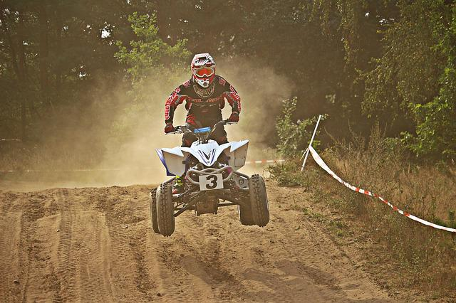Motocross, Enduro, Quad, Race, Sand, Dust, Cross