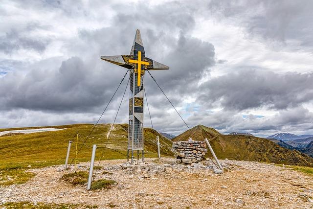 Preacher Chair, Nockalm, Mountains, Summit, Cross
