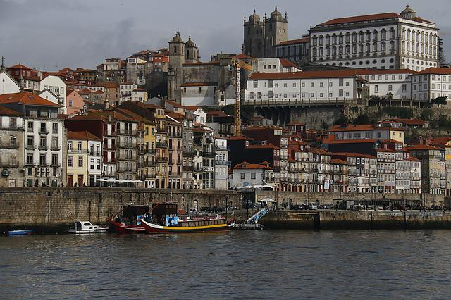 City, River Douro, Douro Landscape, Water, Crossing