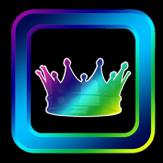 Icon, Crown, Coronation, King, Symbols, Online
